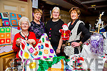Ladies from Castleisland Craft Club, l-r  Jan Wesley, Rose Shannon, Mary Sheehy and Catherine Horan at the Castleisland Christmas Craft Fair in the River Island Hotel on Saturday. Castleisland Crafter's are looking for people to join their club on Tuesday nights at 7.30pm at Castleisland Resource Centre. All Welcome