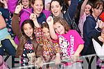 Simone Hunt, Finera Hunt and Molly O'Neill. Back row, from left: Terry O'Neill and Pamela Hunt.