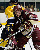 (Brodhag) Ben Smith (BC - 12) - The Merrimack College Warriors defeated the Boston College Eagles 5-3 on Sunday, November 1, 2009, at Lawler Arena in North Andover, Massachusetts splitting the weekend series.