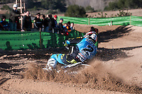 Lozano at Spanish Motocross Championship at Albaida circuit (Spain), 22-23 February 2014