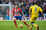 Saul Niguez Esclapez of Atletico de Madrid during the La Liga 2017-18 match between Atletico de Madrid and UD Las Palmas at Wanda Metropolitano on January 28 2018 in Madrid, Spain. Photo by Diego Souto / Power Sport Images