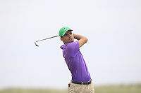 Paul Murphy (Rosslare) on the 9th tee during Round 1 of The East of Ireland Amateur Open Championship in Co. Louth Golf Club, Baltray on Saturday 1st June 2019.<br /> <br /> Picture:  Thos Caffrey / www.golffile.ie<br /> <br /> All photos usage must carry mandatory copyright credit (© Golffile | Thos Caffrey)