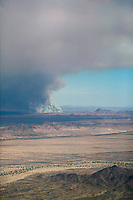 Wildfire near Blythe, Riverside County, California 2006.