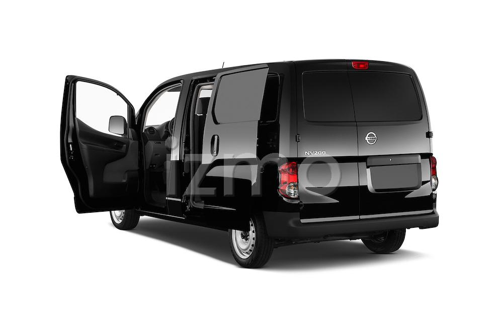 Car images of a 2014 Nissan NV 200 Cargo S 5 Door Van Doors
