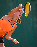Hilversum, Netherlands, August 7, 2017, National Junior Championships, NJK, Anouk Koevermans<br /> Photo: Tennisimages/Henk Koster