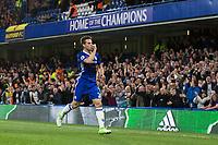 Chelsea's Cesar Azpilicueta celebrates scoring his sides second goal     <br /> <br /> <br /> Photographer Craig Mercer/CameraSport<br /> <br /> The Premier League - Chelsea v Watford - Monday 15th May 2017 - Stamford Bridge - London<br /> <br /> World Copyright &copy; 2017 CameraSport. All rights reserved. 43 Linden Ave. Countesthorpe. Leicester. England. LE8 5PG - Tel: +44 (0) 116 277 4147 - admin@camerasport.com - www.camerasport.com