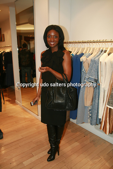 Journalist Lolo Ogunnaike attends an exclusive elegant evening of fashion and design through Shop for a Cause highlighting art and fashion from local emerging Haitian artisans Hosted by Designer, Tracy Reese, JRT Multimedia, CEO Jocelyn Taylor and BACARDI USA at the Tracy Reese Flagship Store 1/26/11<br /> NY