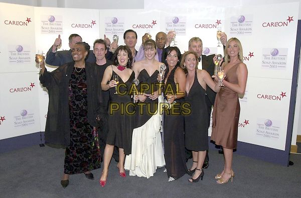 EASTENDERS CAST.25/05/2001: London.The British Soap Awards 2001.Copyright: Phil Loftus/Capital Pictures.*please credit all uses*.sales@capitalpictures.com.www.capitalpictures.com..