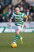 17th March 2019, Dens Park, Dundee, Scotland; Ladbrokes Premiership football, Dundee versus Celtic; Scott Brown of Celtic