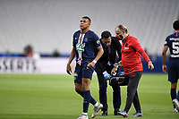 24th July 2020, Stade de France, Paris, France; French football Cup Final, Paris Saint Germain versus  St Ertienne;  07 KYLIAN MBAPPE (PSG) is injured and has to leave the game
