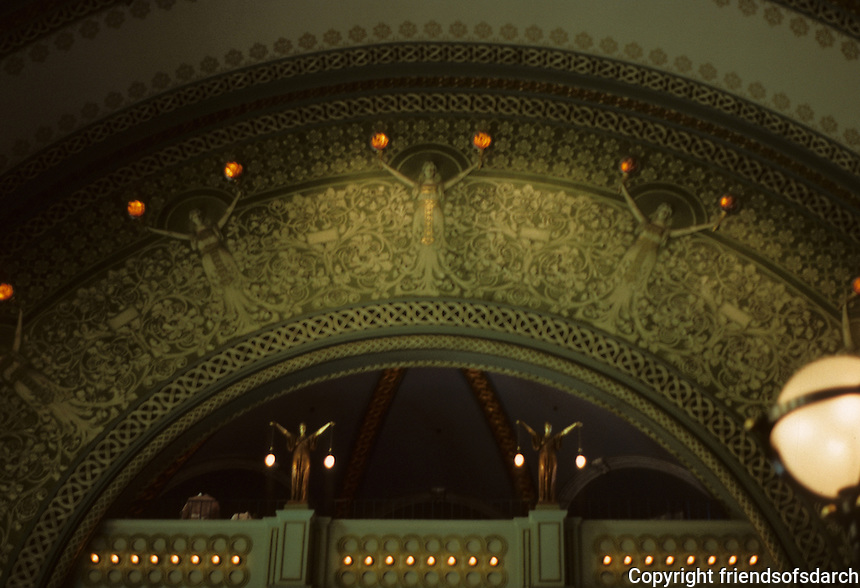 St. Louis: Union Station--Interior. Restored 1988. Photo '88.