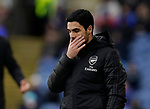 Mikel Arteta manager of Arsenal recast missed chance eduring the Premier League match at Turf Moor, Burnley. Picture date: 2nd February 2020. Picture credit should read: Andrew Yates/Sportimage