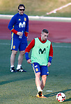 Spain's coach Julen Lopetegui and Gerard Deulofeu during training session. March 20,2017.(ALTERPHOTOS/Acero)
