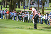 Tiger Woods (USA) chips on to 11 during round 2 of the World Golf Championships, Mexico, Club De Golf Chapultepec, Mexico City, Mexico. 2/22/2019.<br /> Picture: Golffile | Ken Murray<br /> <br /> <br /> All photo usage must carry mandatory copyright credit (© Golffile | Ken Murray)