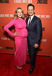 Sophie Flack and Josh Charles attend the Broadway Opening Night after party for 'Straight White Men' Broadway Opening Night at DaDong on July 23, 2018 in New York City