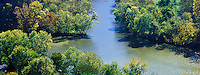 Confluence of the Kentucky and Dix rivers, Kentucky
