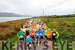 Runners at the start of the Valentia Cable Half Marathon on Saurday.