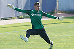 Getafe's Dario Ramos during training session. May 25,2020.(ALTERPHOTOS/Acero)