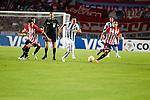 Estudiantes de Argentina cayó 1-0 ante el Atlético Nacional de Medellín, en La Plata, en partido del Grupo 7 de la Copa Libertadores de América.