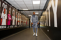 Leandro Bacuna of Cardiff City arrives for the Sky Bet Championship match between Swansea City and Cardiff City at the Liberty Stadium in Swansea, Wales, UK. Sunday 27 October 2019