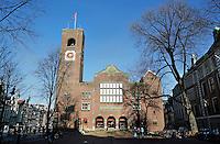 Nederland Amsterdam 2016 02 17. Beurs van Berlage. Rechts Beursplein 5. Foto Berlinda van Dam / Hollandse Hoogte