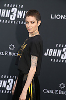 "HOLLYWOOD, CALIFORNIA - MAY 15: Asia Kate Dillon attends the special screening of Lionsgate's ""John Wick: Chapter 3 - Parabellum"" at TCL Chinese Theatre on May 15, 2019 in Hollywood, California.   <br /> CAP/MPI/FS<br /> ©FS/MPI/Capital Pictures"