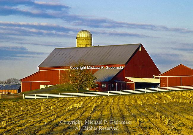 Kishacoquillas Valley  Barn, Mifflin County, Pennsylvania