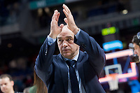 Real Madrid coach Pablo Laso during Liga Endesa match between Real Madrid and Herbalife GC at Wizink Center in Madrid, Spain. December 03, 2017. (ALTERPHOTOS/Borja B.Hojas) /NortePhoto.com NORTEPHOTOMEXICO