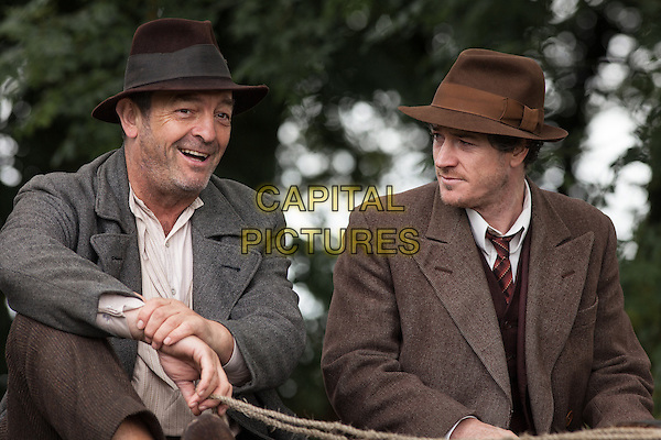 Jimmy's Hall (2014) <br /> Francis Magee and Barry Ward<br /> *Filmstill - Editorial Use Only*<br /> CAP/FB<br /> Image supplied by Capital Pictures