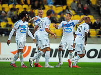 150405 A-League Football - Wellington Phoenix v Melbourne Victory