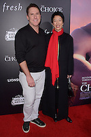 "01 February  - Hollywood, Ca - Nicholas Sparks, Theresa Park. Arrivals for the Los Angeles special screening of ""The Choice"" held at Arclight Hollywood. Photo Credit: Birdie Thompson/AdMedia"