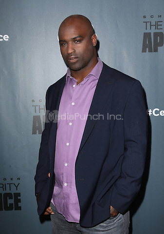 "Universal City, CA - DECEMBER 09: Ricky Williams, At Q&A For NBC's "" The New Celebrity Apprentice"" At NBC Universal Lot, California on December 09, 2016. Credit: Faye Sadou/MediaPunch"