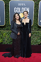America Ferrera and Natalie Portman arrive at the 75th Annual Golden Globe Awards at the Beverly Hilton in Beverly Hills, CA on Sunday, January 7, 2018.<br /> *Editorial Use Only*<br /> CAP/PLF/HFPA<br /> &copy;HFPA/PLF/Capital Pictures