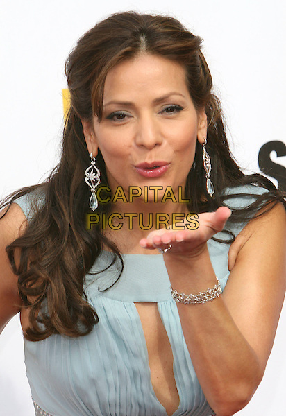 CONSTANCE MARIE.2007 NCLR ALMA Awards - Arrivals held at the Pasadena Civic Center, Pasadena, California, USA,.01 June 2007..portrait headshot hand blowing kiss.CAP/ADM/CH.©Charles Harris/AdMedia/Capital Pictures. *** Local Caption *** .