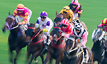 Horse riding during the HKJC Horse Racing 2017-18 at the Sha Tin Racecourse on 16 September 2017 in Hong Kong, China. Photo by Victor Fraile / Power Sport Images