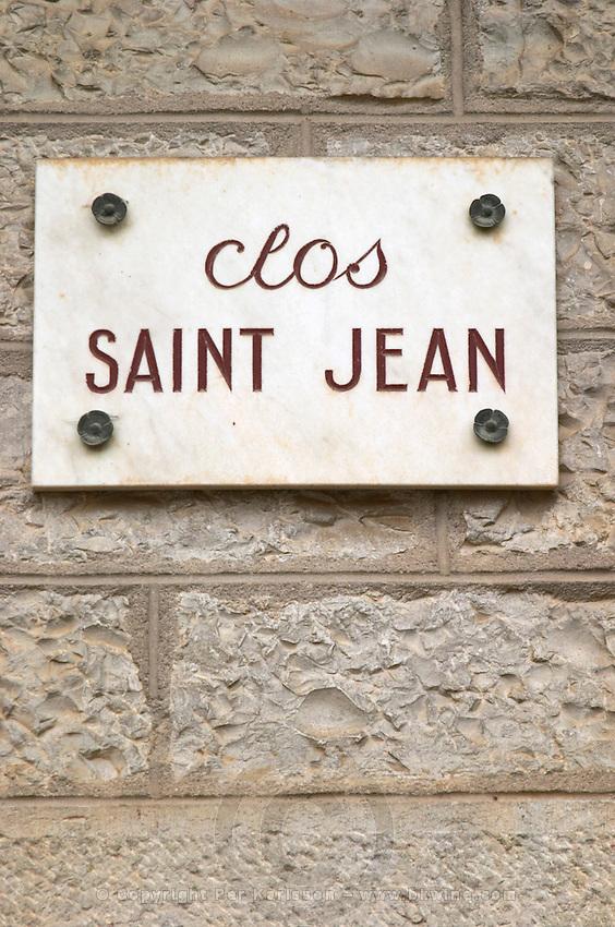 clos saint jean pommard cote de beaune burgundy france