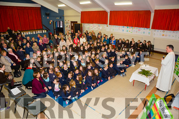 Gaeilscoil Mich Easmann Grandparents Day and Blessings of St. Bridgets Crosses on Monday