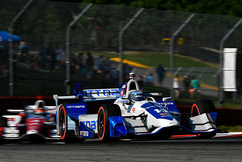 Verizon IndyCar Series<br /> Honda Indy 200 at Mid-Ohio<br /> Mid-Ohio Sports Car Course, Lexington, OH USA<br /> Sunday 30 July 2017<br /> Tony Kanaan, Chip Ganassi Racing Teams Honda<br /> World Copyright: Scott R LePage<br /> LAT Images<br /> ref: Digital Image lepage-170730-to-10960