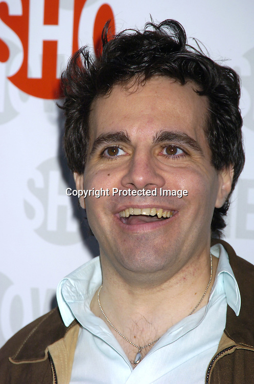 "Mario Cantone ..at the New York Premiere of Showtimes ""Reefer Madness"" ..on April 10, 2005 at the Directors Guild of America Theatre...Broadway Cares/Equity Fights Aids was benefitting from the Premiere. ..Photo by Robin Platzer, Twin Images"