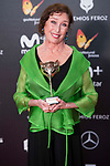 Veronica Forque receives the Honorary Award  during Feroz Awards 2018 at Magarinos Complex in Madrid, Spain. January 22, 2018. (ALTERPHOTOS/Borja B.Hojas)