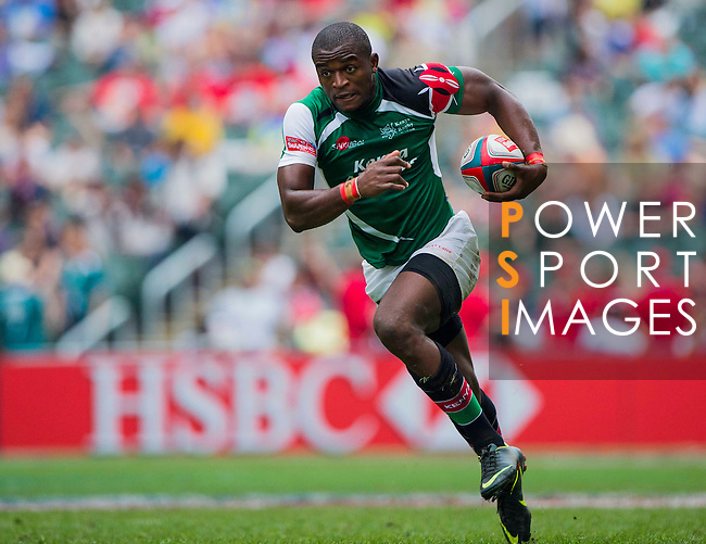 Portugal play Kenya in a Cup Quarter Final on Day 3 of the Cathay Pacific / HSBC Hong Kong Sevens 2013 on 24 March 2013 at Hong Kong Stadium, Hong Kong. Photo by Aitor Alcalde / The Power of Sport Images