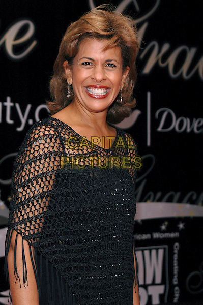 HODA KOTB.The 30th Annual Gracie Awards, presented by American Women In Radio & Television, at the Marriott Marquis in Time Square, New York, New York..June 22nd, 2005.Photo Credit: Patti Ouderkirk/AdMedia.half length black dress shawl.www.capitalpictures.com.sales@capitalpictures.com.© Capital Pictures.