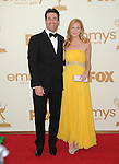 Jon Hamm and Jennifer Westfeldt at The 63rd Anual Primetime Emmy Awards held at Nokia Theatre L.A. Live in Los Angeles, California on September  18,2011                                                                   Copyright 2011Debbie VanStory / iPhotoLive.com