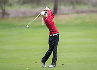 Stanford, CA - February 15, 2014.  Stanford Women's Golf Team at the Peg Barnard Invitational at Stanford Golf Course.