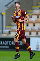 Tom Field of Bradford City during the Carabao Cup match between Bradford City and Doncaster Rovers at the Northern Commercial Stadium, Bradford, England on 8 August 2017. Photo by Thomas Gadd.