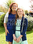Shannon O'Brien who was confirmed in the Holy Family church Ballsgrove pictured with her grandmother Jacke McCormack. Photo:Colin Bell/pressphotos.ie