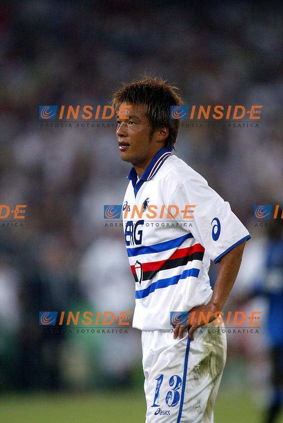 Bari 8/8/2003<br /> Birra Moretti Cup <br /> Atsushi Yanagisawa (Sampdoria)