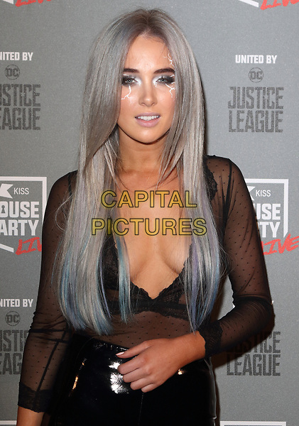 Nicola Hughes at the KISS House Party at SSE Arena Wembley, London on Thursday 26 October 2017<br /> CAP/ROS<br /> &copy;ROS/Capital Pictures