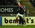 13/01/2007       Copyright Pic: James Stewart.File Name : sct_jspa08_falkirk_v_dunfermline.ALAN GOW CELEBRATES AFTER HE SCORES FALKIRK'S LATER WINNER.....James Stewart Photo Agency 19 Carronlea Drive, Falkirk. FK2 8DN      Vat Reg No. 607 6932 25.Office     : +44 (0)1324 570906     .Mobile   : +44 (0)7721 416997.Fax         : +44 (0)1324 570906.E-mail  :  jim@jspa.co.uk.If you require further information then contact Jim Stewart on any of the numbers above.........
