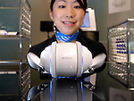 Sony Corp.'s Rolly robotic music system is shown at the company's showroom in Tokyo, Japan.